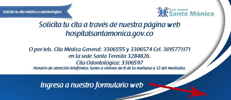 Slide web HSM Solicita tu cita medica2